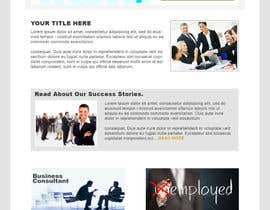 nº 4 pour Design for a simple one page responsive layout for a investment business par nakib14