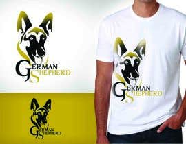 nº 40 pour German Shepherd Logo par pds44