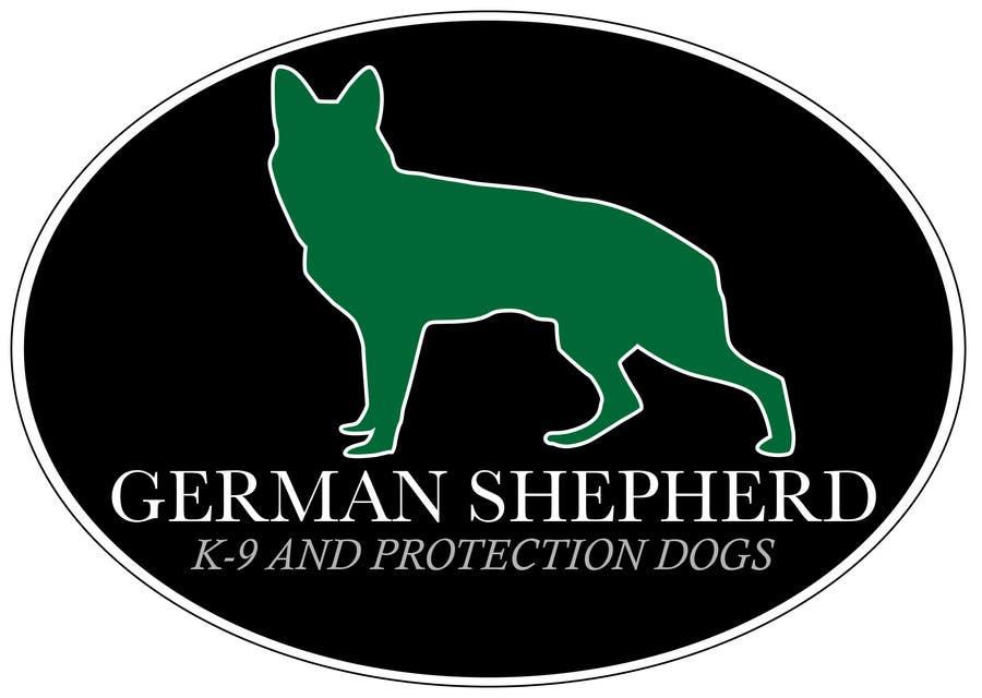 entry 80 by yuhhans for german shepherd logo freelancer rh freelancer com german shepherd look alike breeds german shepherd logo designs