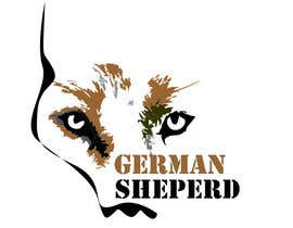 #60 for German Shepherd Logo by ValentinBraila