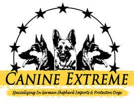 #78 for German Shepherd Logo by madhavanraj
