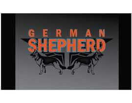 #46 para German Shepherd Logo por riyutama