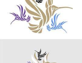 vikipaint tarafından Zaprojektuj logo, tematyka ptaki (kolibry) için no 2