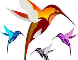dfi7 tarafından Zaprojektuj logo, tematyka ptaki (kolibry) için no 11