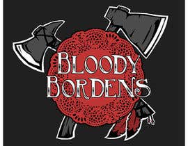 nº 17 pour Update logo for Bloody Bordens (just redraw it) par abdolilustrador