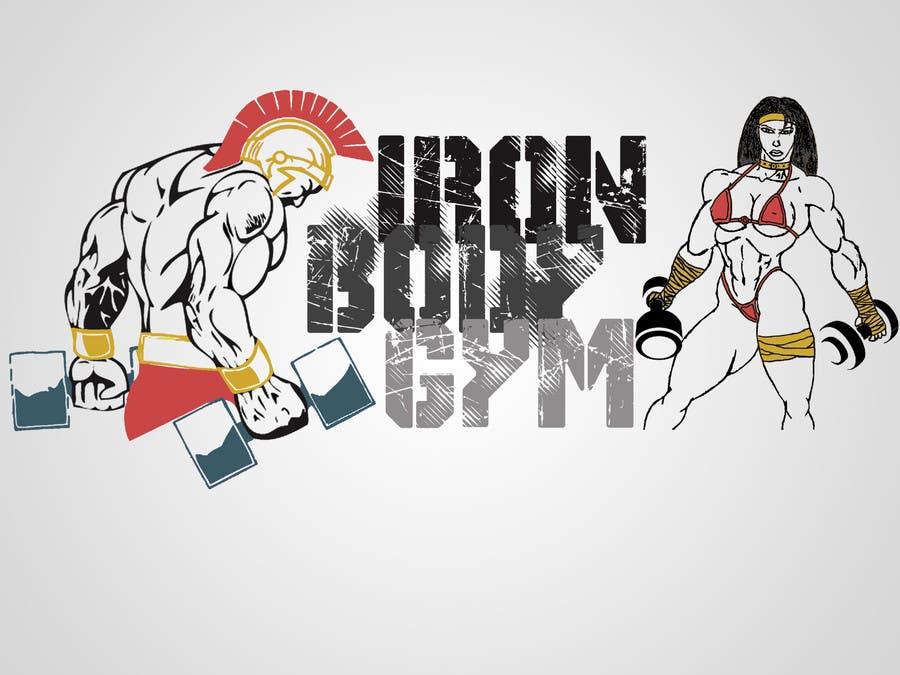 Penyertaan Peraduan #27 untuk Diseñar un logotipo for gym