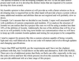#11 para Provide a plan in writing for creating a site in PHP/MySQL por sonaht