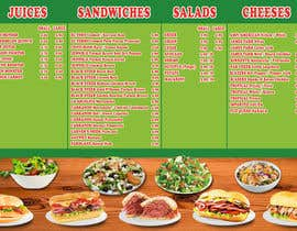 nº 35 pour Menu Design for Deli par Frankeelee