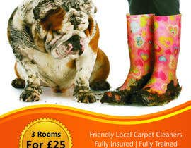 #47 para Design a Flyer for a carpet cleaning business. DOUBLE sided por TATHAE