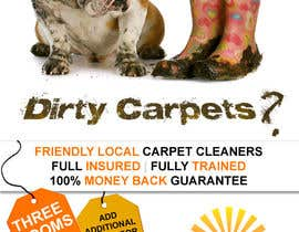 #14 para Design a Flyer for a carpet cleaning business. DOUBLE sided por dineshpandey78