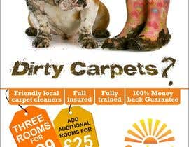 #31 para Design a Flyer for a carpet cleaning business. DOUBLE sided por dineshpandey78