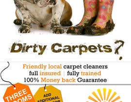 #32 para Design a Flyer for a carpet cleaning business. DOUBLE sided por dineshpandey78