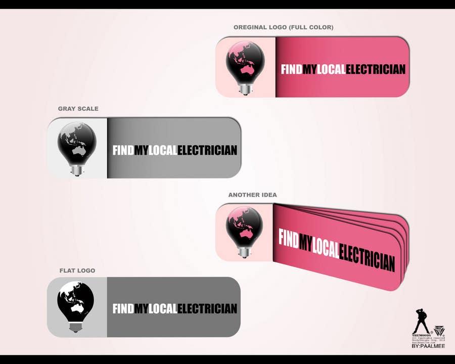 Participación en el concurso Nro.                                        285                                      para                                         Logo Design for findmylocalelectrician
