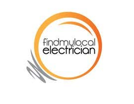 #130 para Logo Design for findmylocalelectrician de sikoru