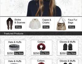 #12 untuk Homepage mock up for ecommerce site oleh freelancershefat