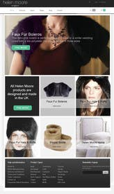 #16 untuk Homepage mock up for ecommerce site oleh zicmedia