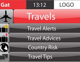 #20 para Design main and detail pages for travel security app on Blackberry por abhig84