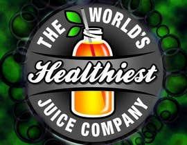 Nro 8 kilpailuun I need some Graphic Design for Green Juice Label käyttäjältä fatimayounus