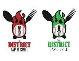 Nro 46 kilpailuun The District Tap & Grill käyttäjältä redkanvas