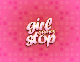 #10 untuk Logo and background. Girls Games. oleh dominativ