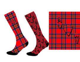 #53 untuk Design some Fashion for a sock oleh mariablasiak