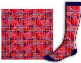 #46 untuk Design some Fashion for a sock oleh helenborzsony