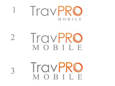 #367 for Design a Logo for a Travel Agent (B2B) Mobile Platform (TravPro Mobile) by rraja14