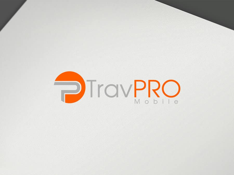 #344 for Design a Logo for a Travel Agent (B2B) Mobile Platform (TravPro Mobile) by seroo123