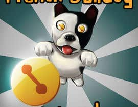 "Alexander3210 tarafından Illustrate a marketing image for the video game, ""french bulldog world"" için no 9"