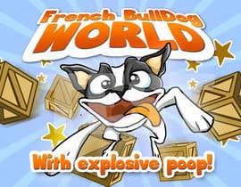 "estylesta tarafından Illustrate a marketing image for the video game, ""french bulldog world"" için no 6"