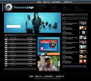 #16 untuk Custom streaming website oleh zicmedia
