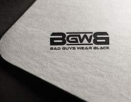 lucianito78 tarafından Bad Guys Wear Black logo için no 1