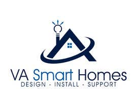 #53 untuk Design a Logo for Virginia Smart Homes oleh ibed05