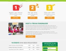 #109 untuk Design a Website Mockup for a campaign oleh MishAMan