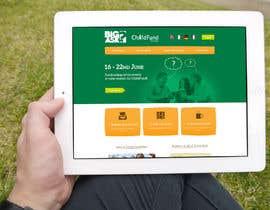 #86 untuk Design a Website Mockup for a campaign oleh layaweek