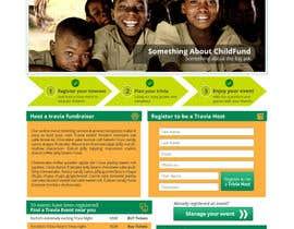 #79 untuk Design a Website Mockup for a campaign oleh sharpBD