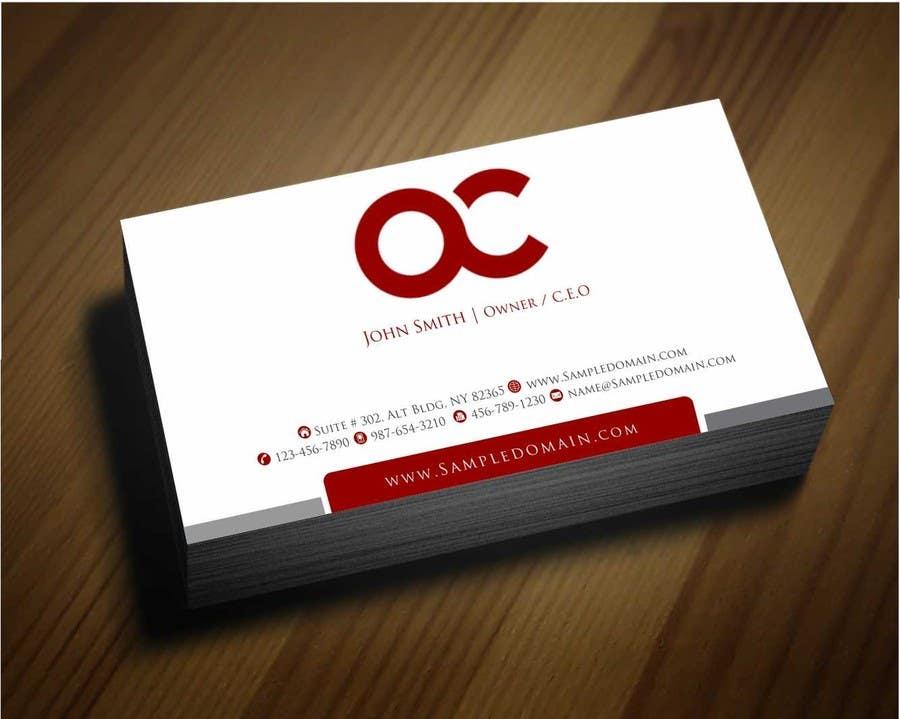 Penyertaan Peraduan #36 untuk Design some Business Cards for Accounting / Consulting Business