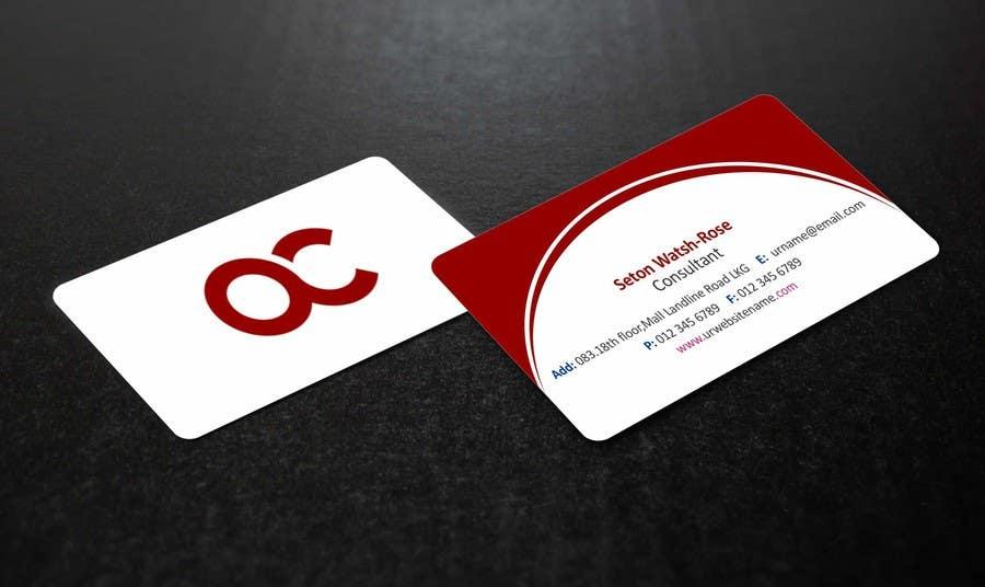 Penyertaan Peraduan #37 untuk Design some Business Cards for Accounting / Consulting Business
