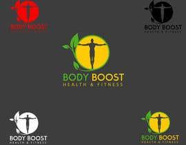 #81 untuk Creative logo design - 'Body Boost Health & Fitness' oleh stamarazvan007