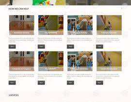 #7 for Design mockup for a services outsourcing website by doomshellsl