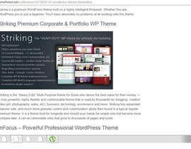 Samkhandeveloper tarafından Selection of one page portfolio wordpress theme to buy için no 1