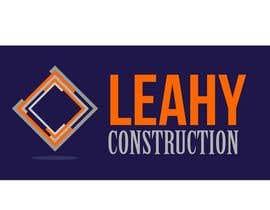 #52 untuk Design a Logo for Leahy Construction oleh tinaszerencses