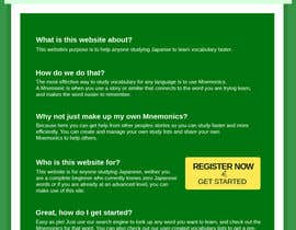 """#4 untuk Redesign ugly """"home"""" page oleh Ashmaroli"""