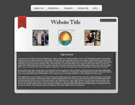 #99 for Personal Page (CV Website) by SpikeMay