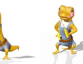 "#111 for ""Lizard Lick LED"" character branding - Lizard & Lick! af Izzyarts"