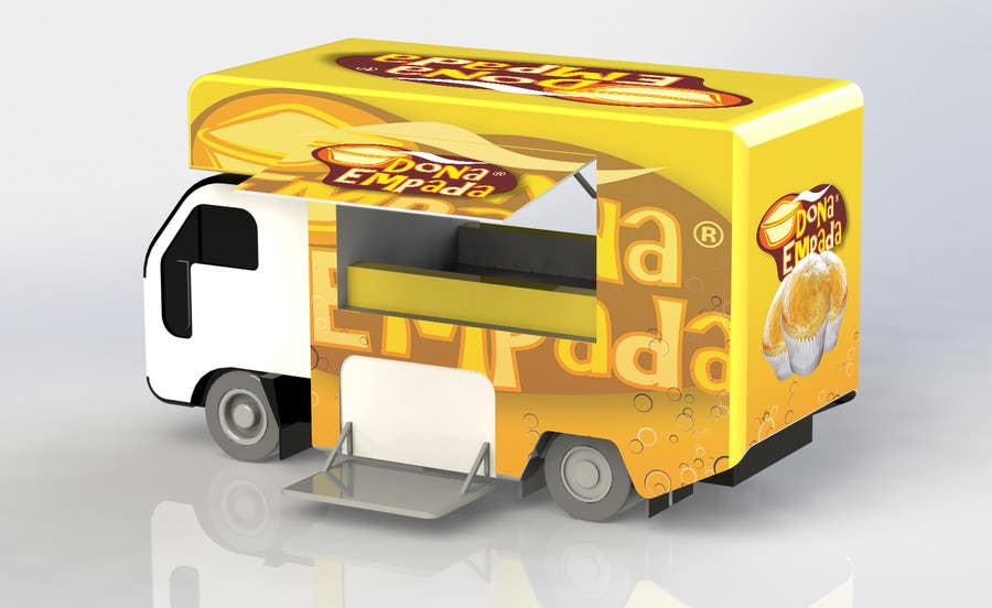 Entry 23 By Terstill For Create Food Truck Layout Freelancer