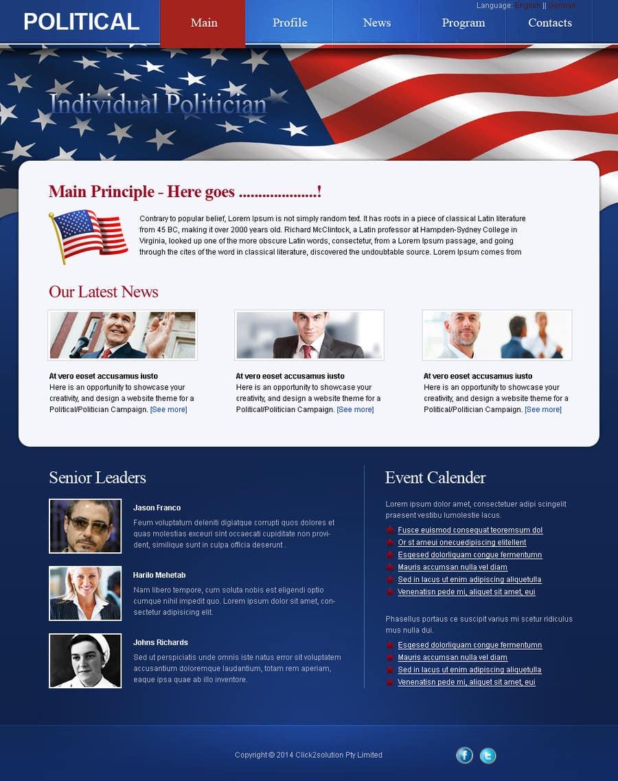 Inscrição nº                                         6                                      do Concurso para                                         Creative Website Theme for Photoshop UI Experts
