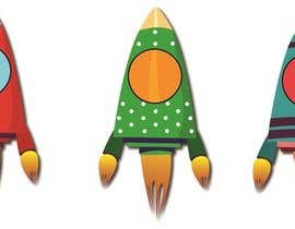 doringa tarafından Design 11 New rockets for my game için no 18