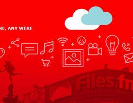 juanmikes tarafından Design a Facebook page cover graphic for cloud file storage için no 16