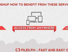 Streakzor tarafından Design a Facebook page cover graphic for cloud file storage için no 47